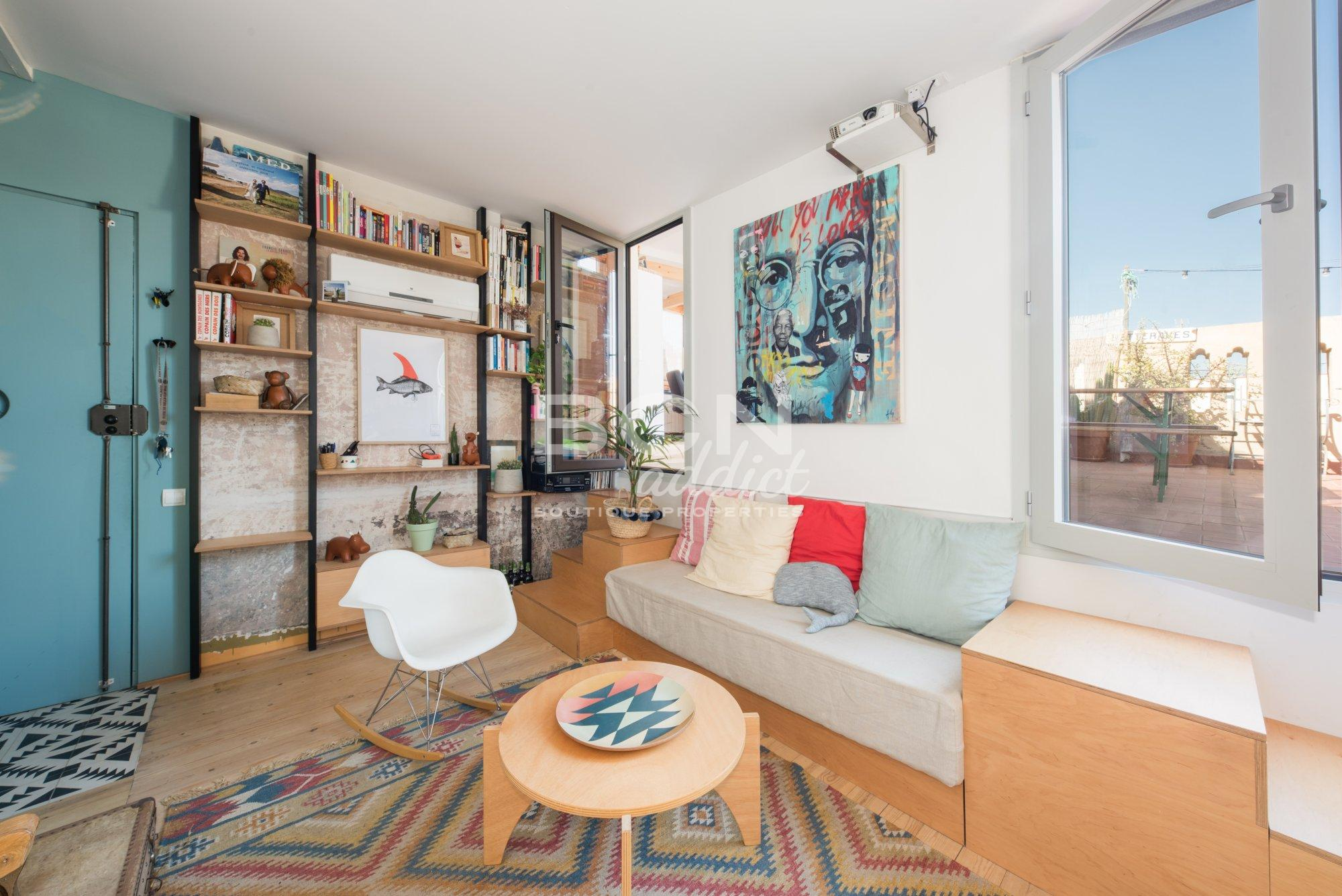 Stunning Stylish Penthouse With Terrace On The Same Level In